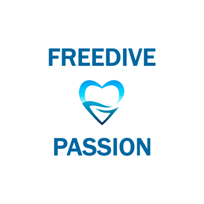 Free diver passion Logo